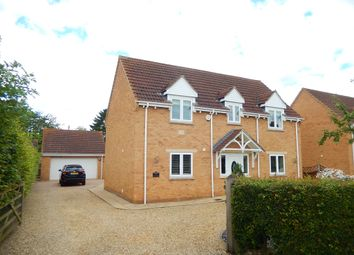 Thumbnail 4 bed detached house for sale in The Pingle, Northborough, Peterborough