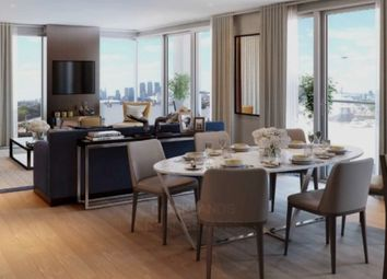 Thumbnail 3 bed flat for sale in Waterfront Royal Arsenal Riverside, Duke Of Wellington Ave, Greenwich