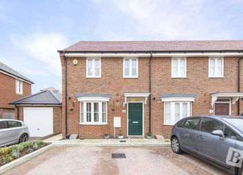 Thumbnail 3 bed end terrace house for sale in Walker Close, Castle Hill, Ebbsfleet Valley, Swanscombe