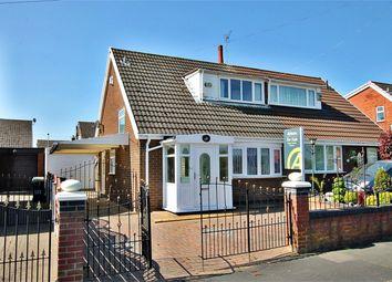 Thumbnail 2 bed semi-detached bungalow for sale in Ashton Road, Golborne, Warrington