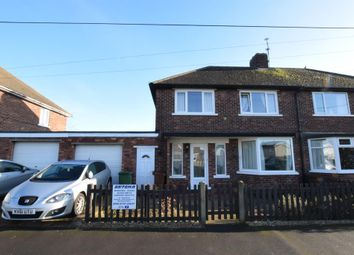 Thumbnail 3 bedroom semi-detached house for sale in Annes Crescent, Scunthorpe