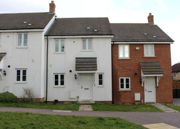 Thumbnail 3 bed terraced house to rent in Beanfield Close, Riseley