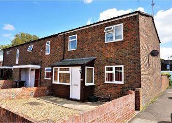 Thumbnail 3 bed end terrace house for sale in Falkland Road, Basingstoke