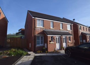 Thumbnail 2 bed semi-detached house for sale in 42 Maes Brynach, Brynmenyn, Bridgend