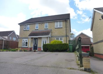 Thumbnail 2 bedroom semi-detached house for sale in Barleyfield Road, Horsford, Norwich