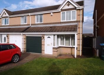 Thumbnail 3 bed semi-detached house for sale in Lakemore, Peterlee