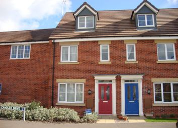 Thumbnail 3 bed terraced house to rent in Candler Drive, Stone, Staffordshire