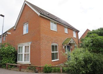 Thumbnail 3 bed detached house for sale in Willow Herb Walk, Wymondham