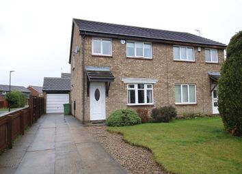 Thumbnail 3 bed semi-detached house for sale in Ganton Close, Washington