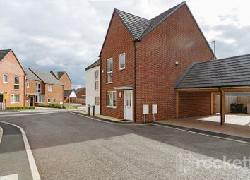 Thumbnail 3 bed town house to rent in Vickers Close, Newcastle-Under-Lyme