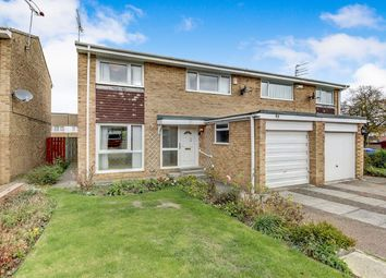 Thumbnail 3 bed semi-detached house for sale in Langdale Drive, Cramlington