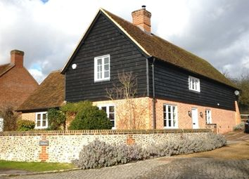 Thumbnail 4 bed detached house to rent in Alleyns Lane, Cookham, Berkshire