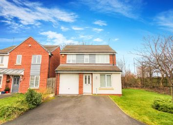 Thumbnail 3 bed detached house for sale in Miller Close, Newcastle Upon Tyne