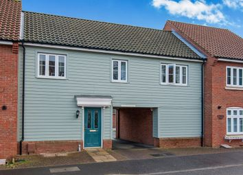 Thumbnail 2 bedroom terraced house for sale in Washington Drive, Watton, Thetford