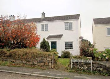 Thumbnail 3 bed end terrace house for sale in Glenmore Terrace, Longdowns, Penryn