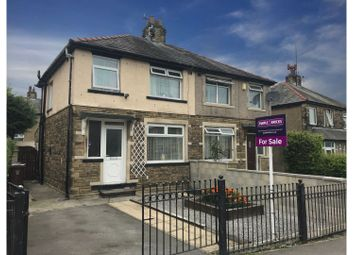 Thumbnail 3 bed semi-detached house for sale in Elwyn Road, Bradford