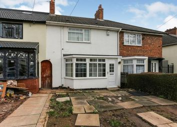 Thumbnail 3 bed terraced house for sale in Denville Crescent, Bordesley Green, Birmingham, West Midlands