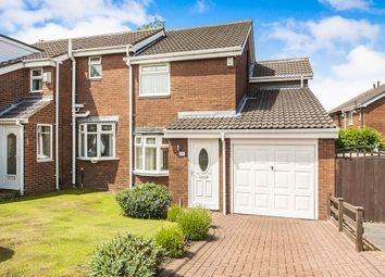 Thumbnail 3 bedroom semi-detached house for sale in Bowlynn Close, East Moorside, Sunderland