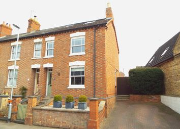 Thumbnail 3 bed end terrace house for sale in High Street, Wollaston, Northamptonshire