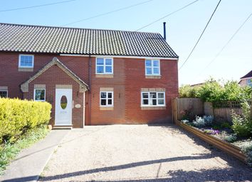 Thumbnail 3 bed semi-detached house for sale in The Street, Earsham, Bungay