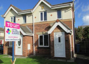 Thumbnail 2 bed semi-detached house to rent in Breeze Close, Thornton-Cleveleys