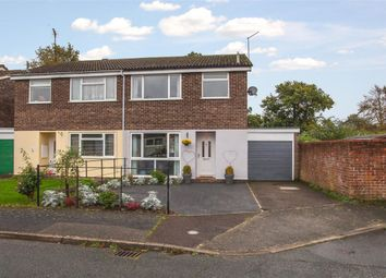 Thumbnail 3 bed semi-detached house for sale in Fernhill Close, Woodbridge
