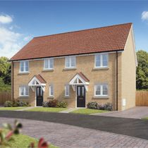 Thumbnail 3 bed semi-detached house for sale in Morello Court, King's Lynn