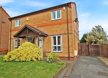Thumbnail 2 bed semi-detached house for sale in Allwood Drive, Carlton, Nottingham