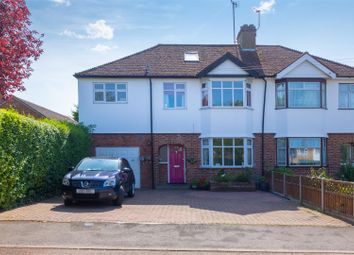 Thumbnail 5 bed semi-detached house for sale in Cambridge Road, Hitchin
