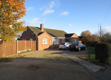 Thumbnail 3 bed detached bungalow for sale in Main Road, Quadring, Spalding
