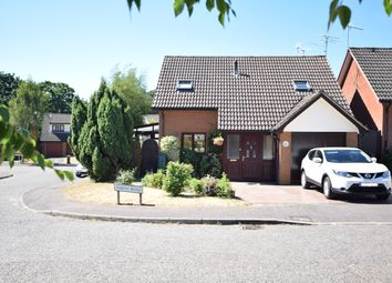 Thumbnail 3 bed detached house for sale in Simons Road, Woodbridge