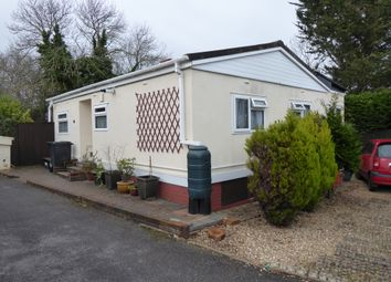 Thumbnail 2 bedroom mobile/park home for sale in The Firs, Bakers Hill, Exeter, Devon