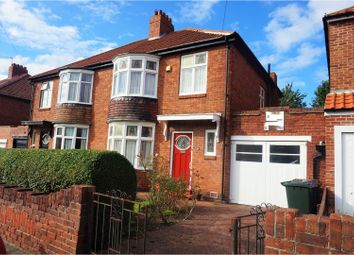 Thumbnail 3 bedroom semi-detached house for sale in Lindale Road, Newcastle Upon Tyne
