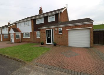 Thumbnail 3 bed semi-detached house for sale in Jordons Close, Stanwell