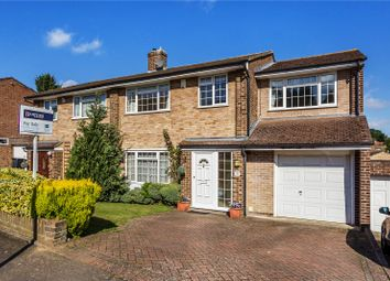 Thumbnail 4 bed semi-detached house for sale in Ambleside Gardens, South Croydon