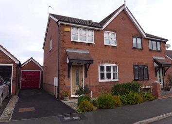 Thumbnail 3 bedroom semi-detached house for sale in Tretower Way, Thornton-Cleveleys