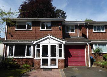 Thumbnail 4 bed detached house to rent in Wheeleys Road, Edgbaston, Birmingham