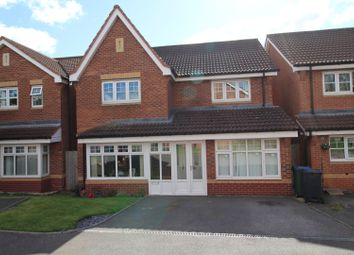Thumbnail 4 bed detached house for sale in Hyacinth Close, Walsall, Staffordshire