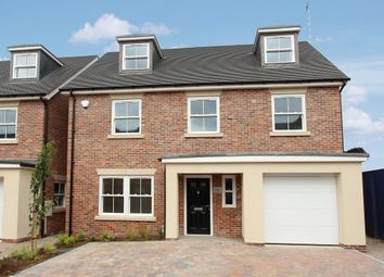 Thumbnail 4 bed detached house for sale in Rosemary Gardens, Rugby