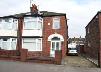 Thumbnail 4 bed semi-detached house for sale in Lodge Street, Hull