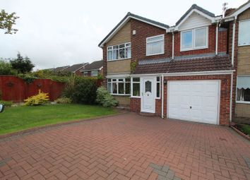 Thumbnail 4 bed detached house for sale in Boulby Close, Tunstall, Sunderland