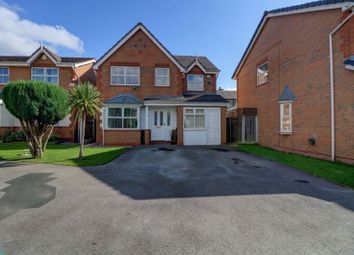 Thumbnail 4 bed detached house for sale in Crestwood Close, Bradford