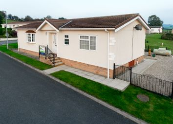 Thumbnail 2 bed mobile/park home for sale in The Dell, Caerwnon Park