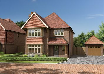 Thumbnail 4 bed detached house for sale in Bletchingly Road, Godstone, Surrey.