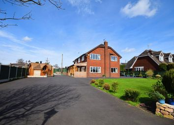 Thumbnail 6 bed detached house for sale in Hill Top, Brown Edge, Stoke-On-Trent