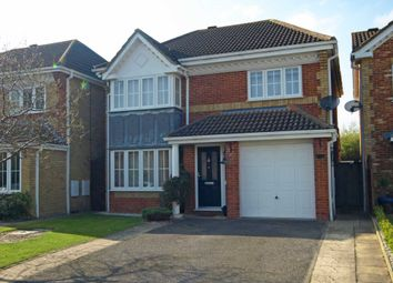 Thumbnail 4 bed detached house for sale in Swallow Close, Bicester
