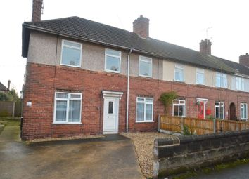 Thumbnail 3 bed terraced house to rent in Harlow Street, Blidworth, Mansfield