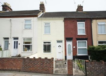 Thumbnail 3 bedroom terraced house to rent in Gorleston Road, Lowestoft