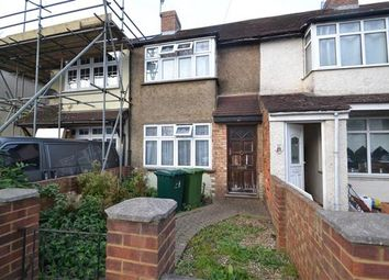 Thumbnail 2 bed terraced house for sale in Ravensbourne Avenue, Stanwell, Staines