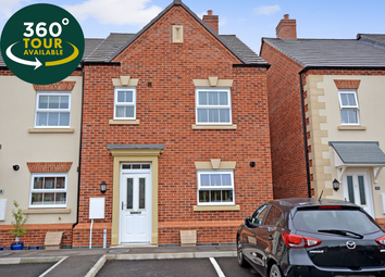 Thumbnail 3 bed semi-detached house for sale in Peacock Place, Wigston, Leicester
